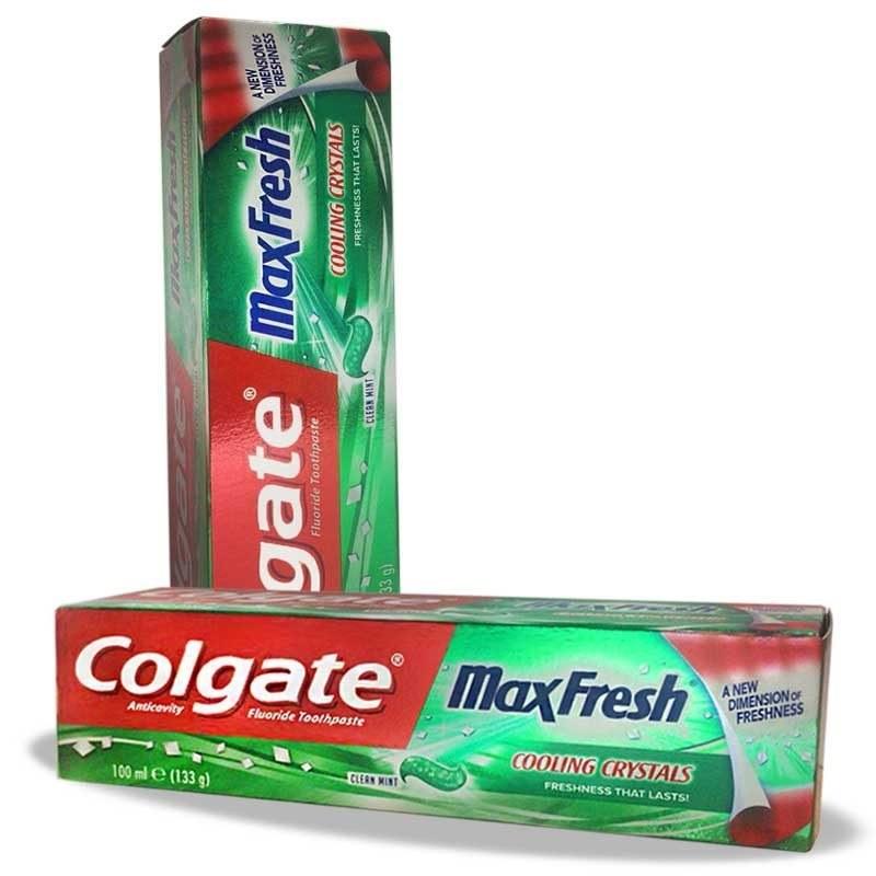 خمیر دندان مکس فرش کلگیت Colgate Max Fresh