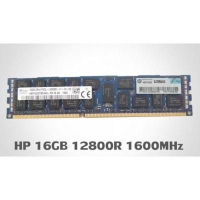 تصویر خرید رم سرور اچ پی HP 16GB DDR3 1600MHz PC3-12800R