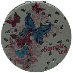 آینه جیبی طرح پروانه مدل 11-233942 |