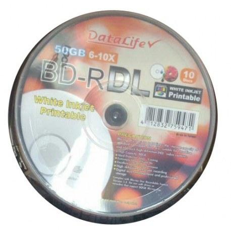 بلوری خام دیتا لایف با ظرفیت ۵۰ گیگابایت | DataLife BD-R 50GB Blu-ray Disk