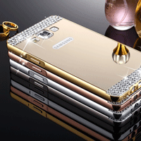 قاب محکم Diamond Mirror Case for Samsung Galaxy J5 2016 قاب آینه ای نگین دار |