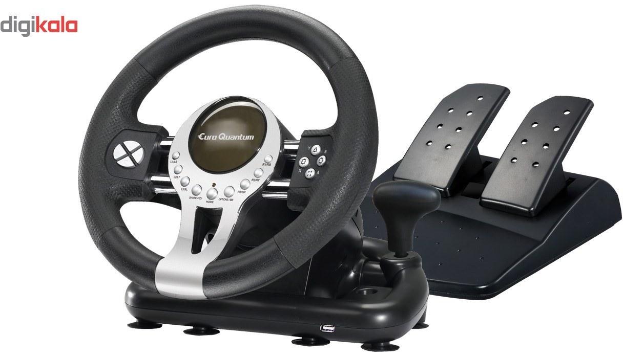 تصویر فرمان بازی یورو کوانتوم Euro Quantum Game Racing Wheel