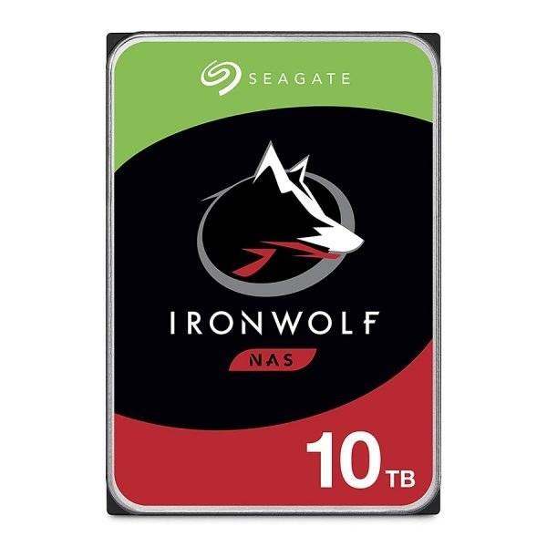 main images هارد اینترنال 10 ترابایت سیگیت مدل IronWolf ST10000VN0008