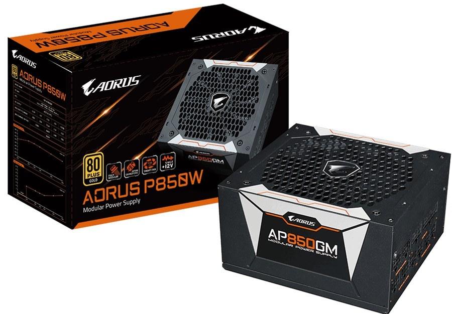تصویر پاور گیگابایت مدل AORUS P۸۵۰W GigaByte AORUS P850W 80+ GOLD Modular Power Supply