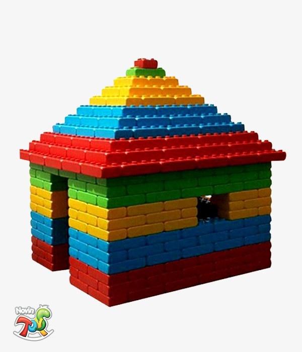تصویر آجر خانه سازی کودک - تجهیزات مهد کودک و لوازم خانه بازی نوین تویز