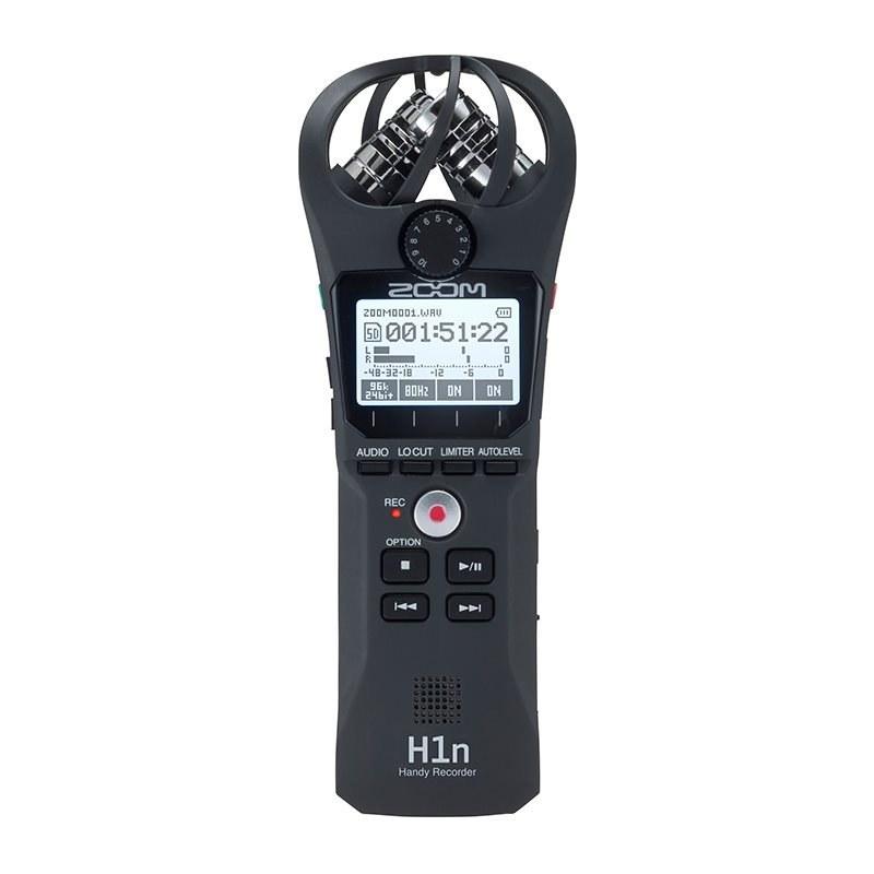 تصویر رکوردر ضبط کننده صدا دستی زوم مدل H1n ZOOM H1n