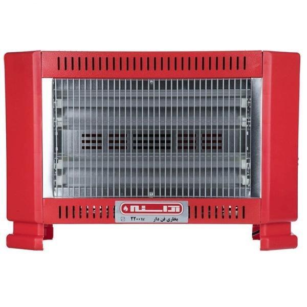تصویر بخاری برقی 2200 فن دار آراسته Arasteh electric heater