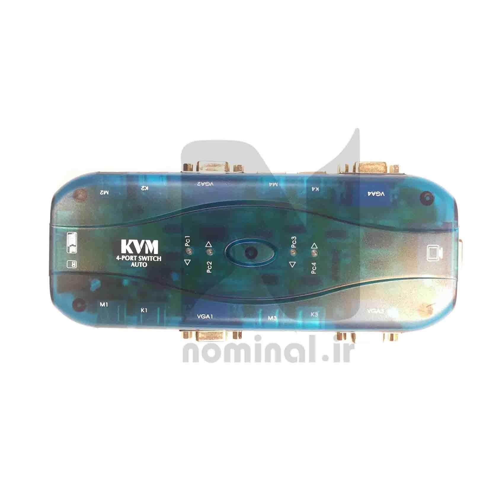 سوييچ KVM چهار پورت خودکار AUTO (ps2) |