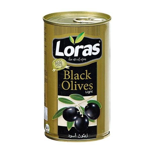 تصویر زیتون لوراس Black olives وزن 2500 گرم