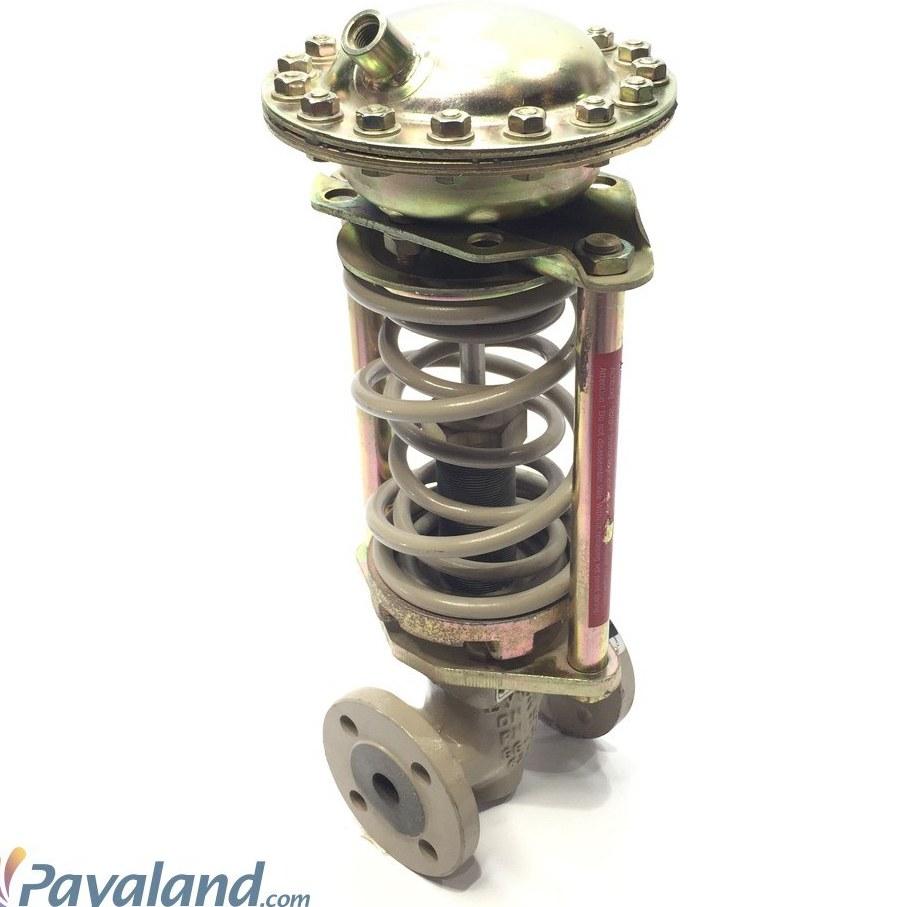 """تصویر شیر فشار شکن بخار """" 3/4 فلنجدار ایوز EYVAZ مدل 02-39 PN16 طرح سامسون (Po 4.5-10 bar)"""