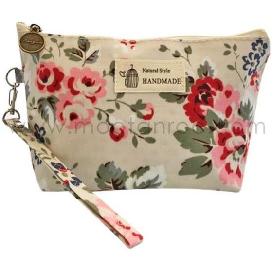 کیف لوازم آرایش اترنیتی مدل  (Soft Flower (10