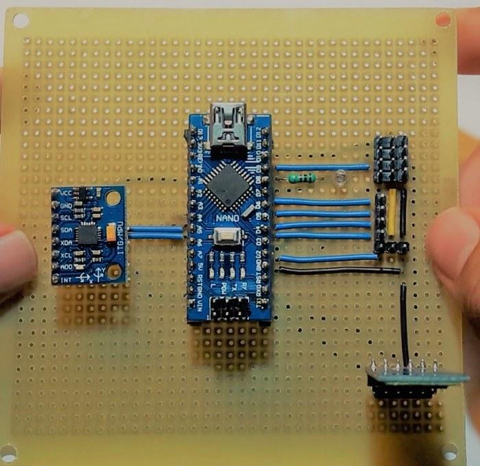 تصویر پروژه فلایت کنترلر و ربات پرنده