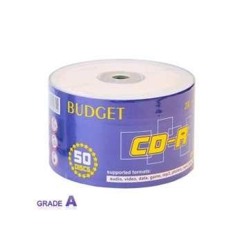 سی دی خام باجت مدل CD-R بسته 50 عددی | Budget CD-R Pack of 50