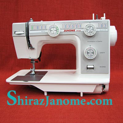JANOME 393A Sewing Machine