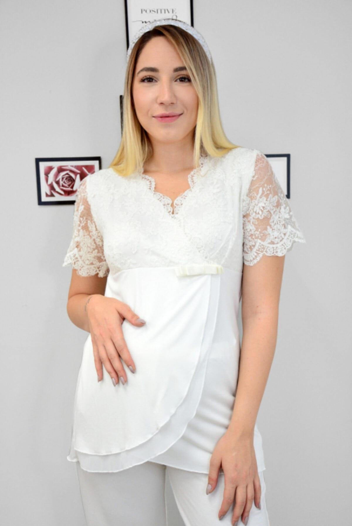 تصویر ست لباس راحتی بارداری 210380 برند Cossy By Aqua کد 1616975581