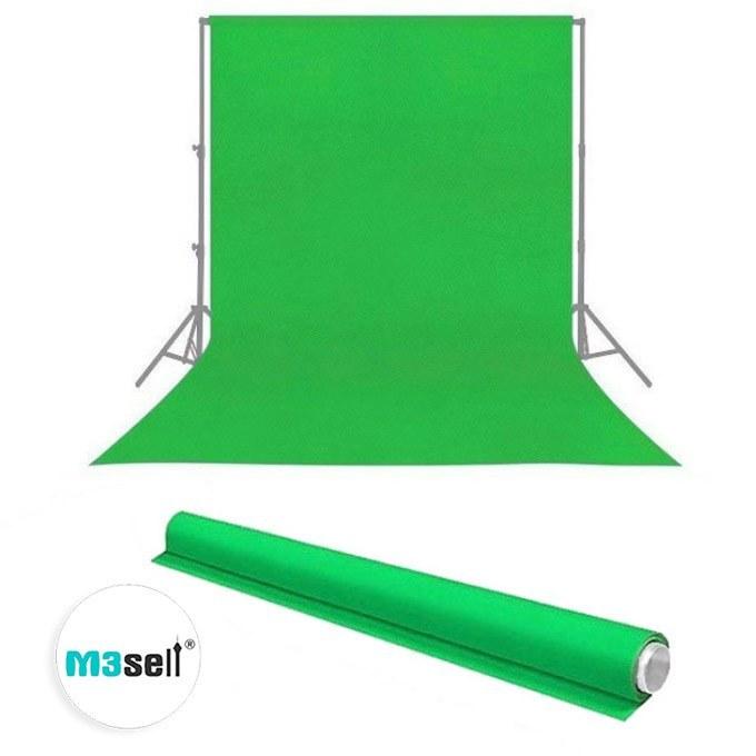 تصویر پرده سبز کروماکی 2x3 خارجی ضد چروک