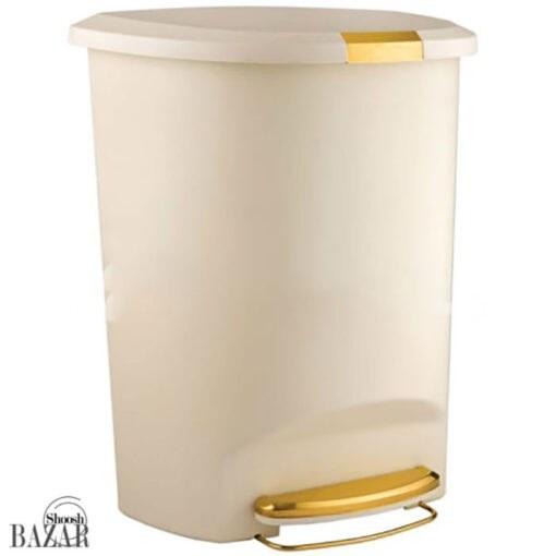 تصویر سطل پدالی 50 لیتری لیمون مدل