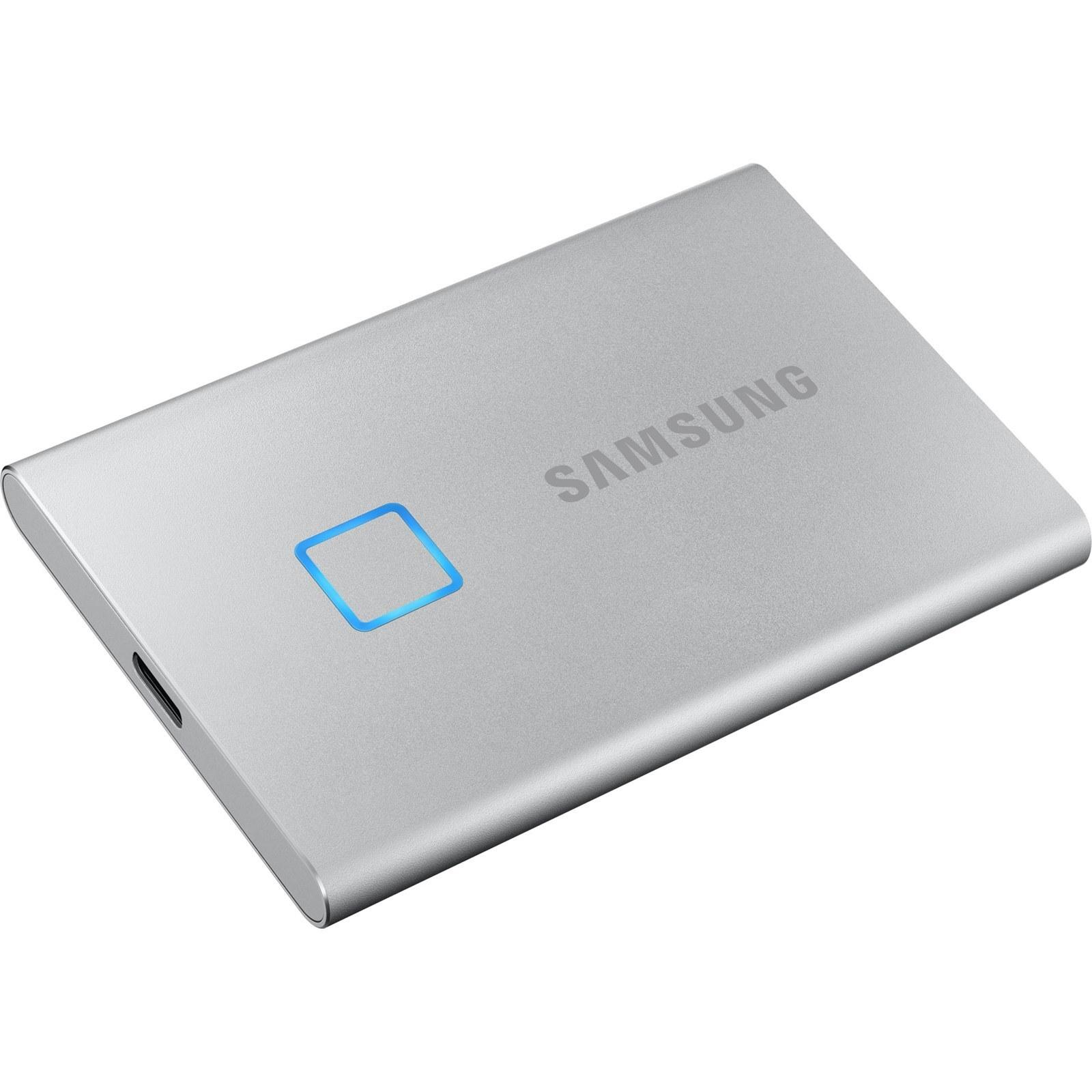 تصویر اس اس دی اکسترنال سامسونگ مدل T7 ظرفیت 500گیگابایت Samsung T7 External SSD Drive - 500GB