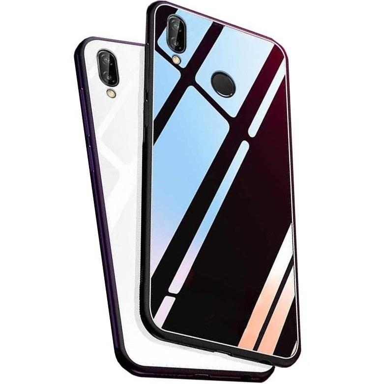 قاب محافظ پشت گلس هواوی Luxury Tempered Glass Case | Huawei Y9 2019 |