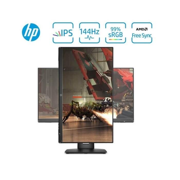 تصویر مانیتور گیمینگ HP X24ih 23.8 FHD 144Hz FreeSync