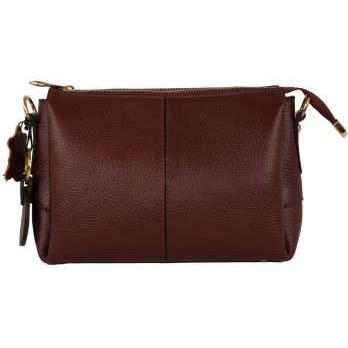 کیف دوشی زنانه پارینه چرم کد V188-12 |