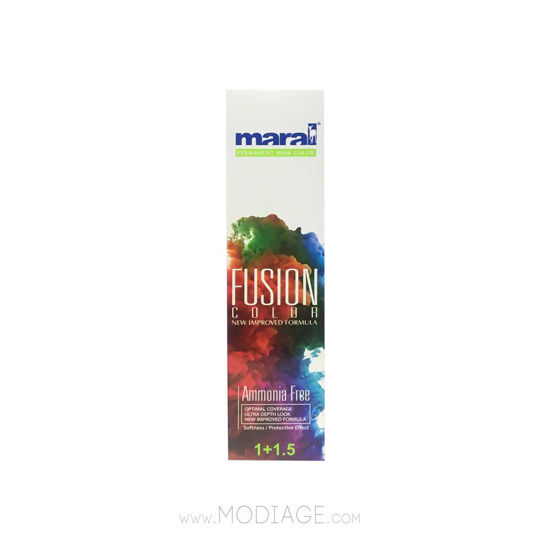 تصویر رنگ مو بدون آمونیاک فیوژن مارال maral Maral Fusion Color