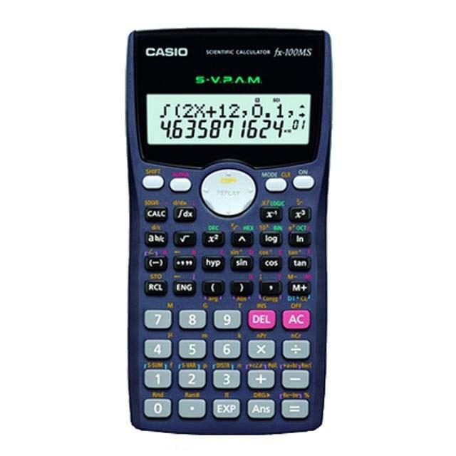 عکس ماشین حساب FX-100MS کاسیو Casio FX-100MS Calculator ماشین-حساب-fx-100ms-کاسیو