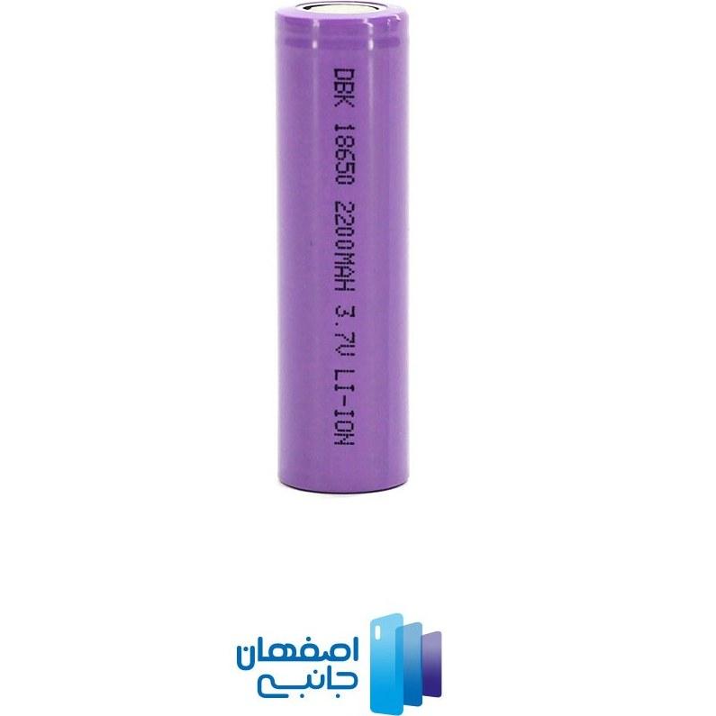 تصویر باتری لیتیومی 18650 شارژی DBK  ( مخصوص ویپ )