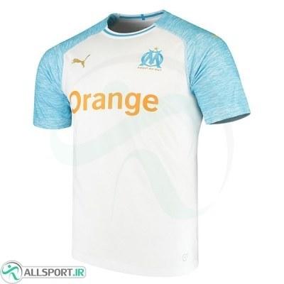 پیراهن اول المپیک مارسی Olympique de Marseille 2018-19 Home Soccer Jersey