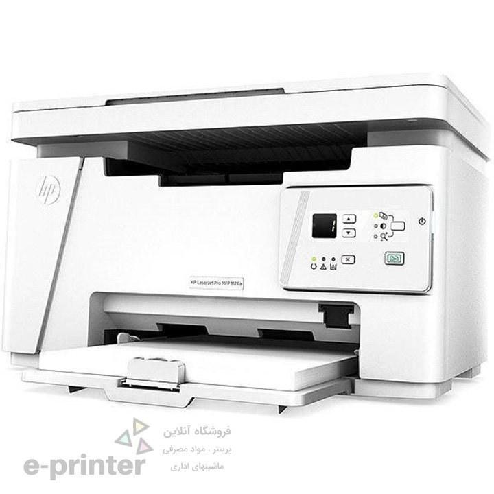 تصویر پرینتر  سه کاره لیزری اچ پی مدل LaserJet Pro MFP M26a HP LaserJet Pro MFP M26a Multifunction Laser Printer