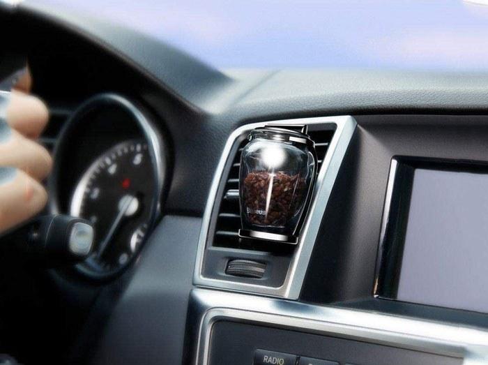 تصویر خوشبو کننده و تصفیه هوای خودرو بیسوس Baseus Zeolite Car Fragrance AMROU-01