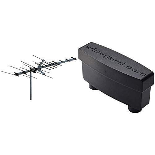 عکس آنتن تلویزیون با طیف وسیعی وینگارد پلاتین HD7694P (فضای باز / اتاق زیر شیروانی ، 4K فوق العاده HD آماده ، ATSC 3.0 آماده ، با فشار بالا VHF / UHF) - آنتن 45 مایل HD Range  انتن-تلویزیون-با-طیف-وسیعی-وینگارد-پلاتین-hd7694p-فضای-باز-اتاق-زیر-شیروانی-4k-فوق-العاده-hd-اماده-atsc-30-اماده-با-فشار-بالا-vhf-uhf-انتن-45-مایل-hd-range