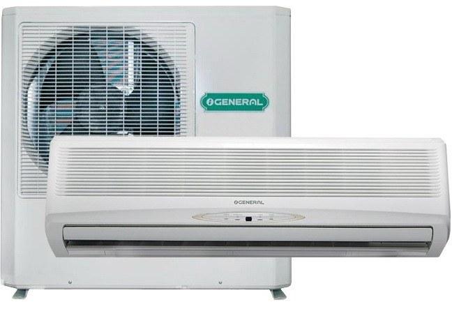 کولر گازی سرد و گرم اجنرال  OGENERAL SPLIT 24000