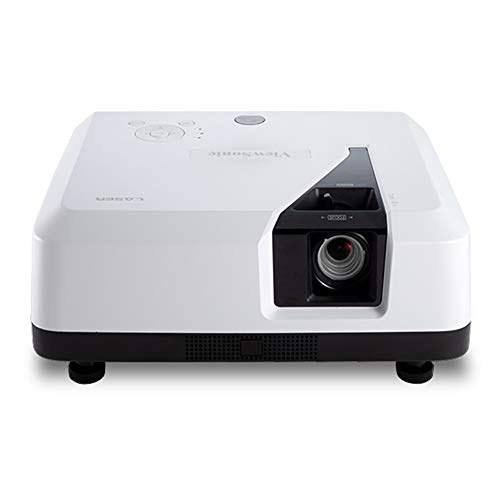 تصویر پروژکتور ViewSonic 4K UHD با پشتیبانی از محتوا 3300 Lumens 3D HDR و Dual HDMI برای سینمای خانگی (LS700-4K)