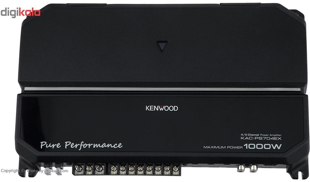 تصویر آمپلی فایر خودرو کنوود مدل KAC-PS704EX Kenwood KAC-PS704EX Car Amplifier