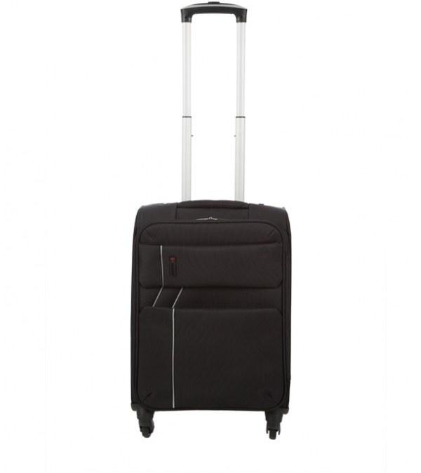 چمدان سایز کوچک مشکی جوتی جینز Jooti Jeans