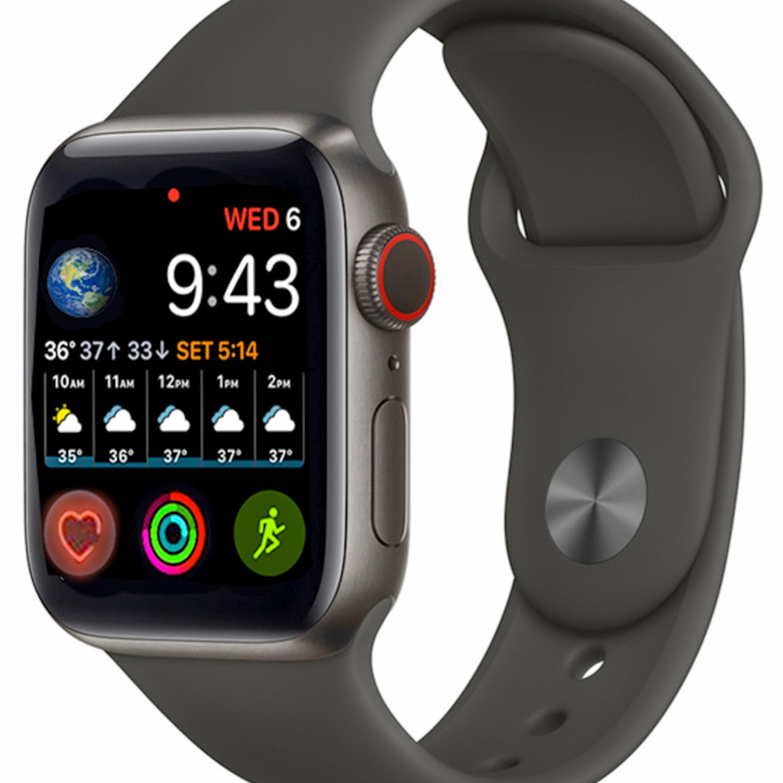 تصویر ساعت هوشمند مدل HT99 Plus با لوگو اپل