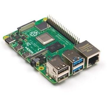 تصویر برد رزبریپای 4 مدل B (رسپبریپای 4 مدل B) تولید انگلیس با حافظههای مختلف (Raspberry Pi 4 Model B)