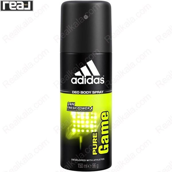 عکس اسپری بدن آدیداس مدل Pure Game Adidas Deo Body Spray Pure Game 150ml اسپری-بدن-ادیداس-مدل-pure-game