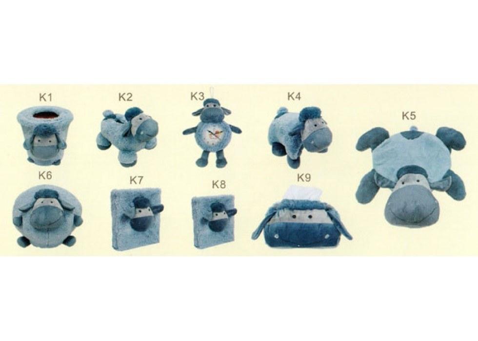 ست پولیشی سیسمونی و اتاق کودک مدل گوسفند Blue Sheep |