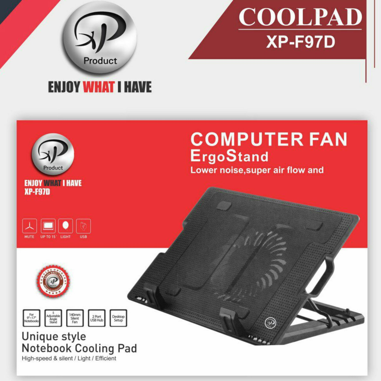 تصویر پایه خنک کننده لپ تاپ اکس پی XP-F97D