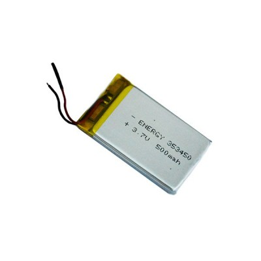 باتری لیتیومی ظرفیت 500 میلی آمپر ساعت