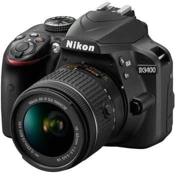 عکس دوربین دیجیتال نیکون مدل D3400 به همراه لنز 18-55 میلی متر VR Nikon D3400 18-55mm VR Lens Kit Digital Camera دوربین-دیجیتال-نیکون-مدل-d3400-به-همراه-لنز-18-55-میلی-متر-vr