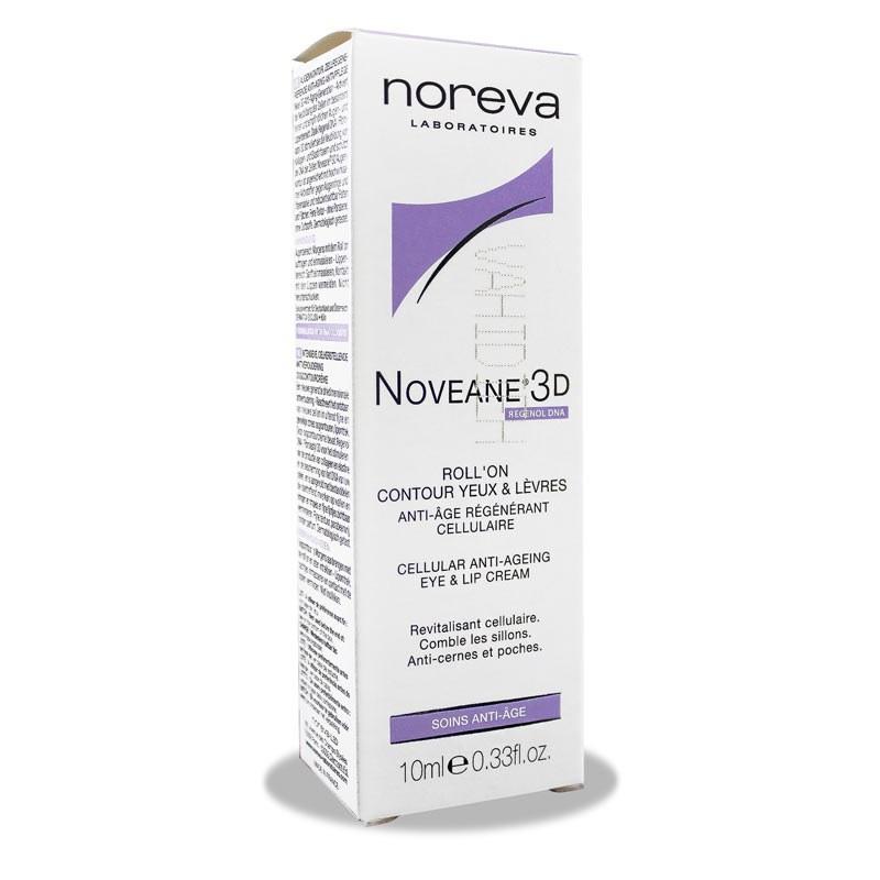 کرم ضد چروک دور چشم و لب نوویین Noreva Noveane-3D