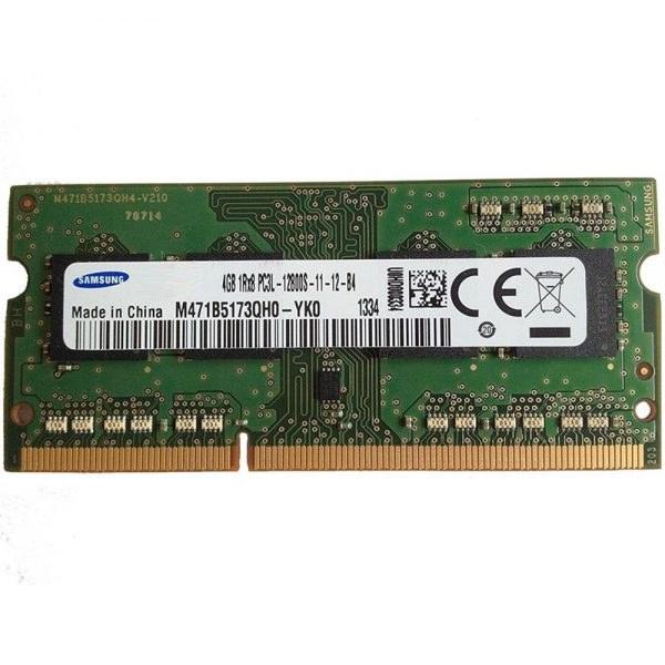 رم لپ تاپ سامسونگ ۴ گیگابایت DDR۳L با فرکانس ۱۶۰۰ مگاهرتز