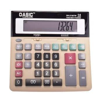ماشین حساب کاسیک مدل DR-2130TW | Casic DR-2130TW Calculator