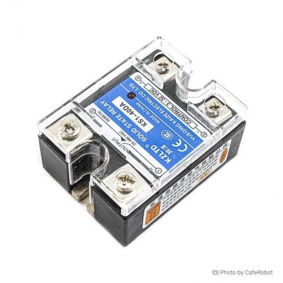 تصویر رله SSR Solid State KS1-40DA - رله 24-380 ولت 40 آمپر