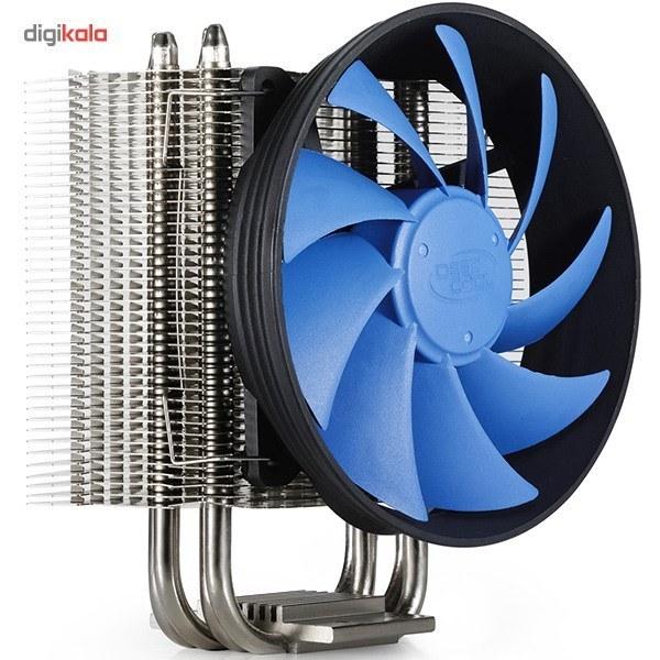 img فن خنک کننده پردازنده های اینتل و ای ام دیدیپ کول مدل گاماکس 300 فن پردازنده دیپ کول GAMMAXX-300 CPU AIR COOLER