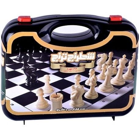 شطرنج طرح کیف چمدان ترنج
