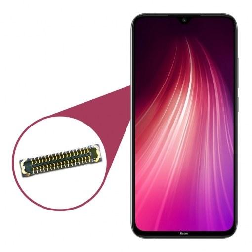 تصویر کانکتور LCD مناسب برای گوشی موبایل Xiaomi Redmi Note 8 ا کانکتور السیدی مناسب برای گوشی ردمی نوت 8 کانکتور السیدی مناسب برای گوشی ردمی نوت 8